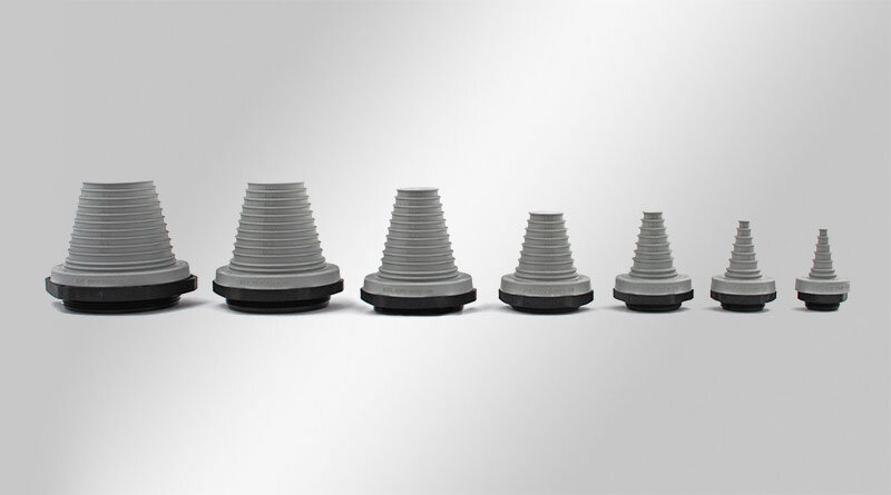 KEL-DPF Pyramid Cable Entry Grommets